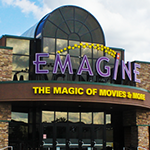 photo of the Emagine movie theater in Canton